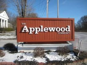 Applewood community sign