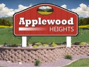 Applewood Heights sign
